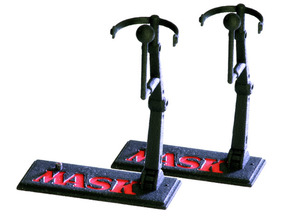 M.A.S.K. Deluxe Figure-Stand (2x) in White Processed Versatile Plastic