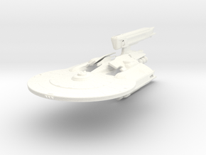 Pulsar Class Refit Tender Transport in White Strong & Flexible Polished