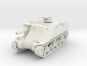 DW05 T3 Phaser Motor Carriage (1/48) in White Natural Versatile Plastic