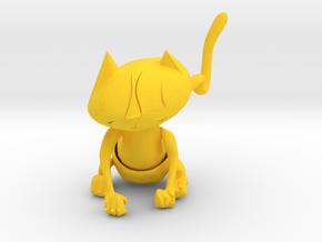 MIA   . Jaguatirica . Ocelote . Ocelot . オセロット in Yellow Processed Versatile Plastic