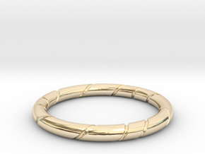 Ribbon in 14k Gold Plated Brass: 13 / 69