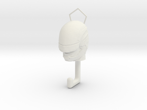 Robocap hook in White Natural Versatile Plastic