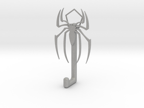 Spiderman Logo hook in Aluminum