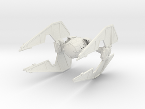 Extie Fighter    Big in White Natural Versatile Plastic