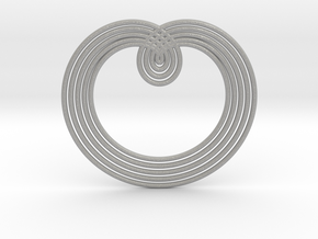 0526 Motion Of Points Around Circle (5cm) #003 in Aluminum