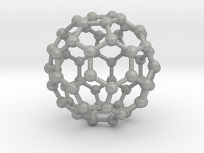 0009 Fullerene c60 ih in Aluminum