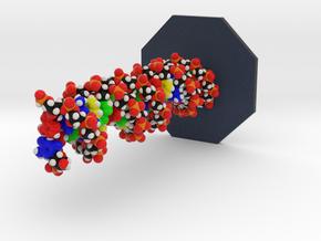 Molecule Large TestPrint Customization in Full Color Sandstone