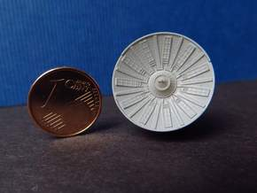 YT1300 BANDAY 1/144 RADAR ROUND 5 FOOTER in Smooth Fine Detail Plastic