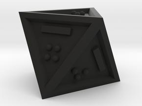 Braille D8 Mark II in Black Natural Versatile Plastic