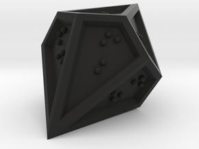 Braille D10 Percentile Mark II in Black Natural Versatile Plastic