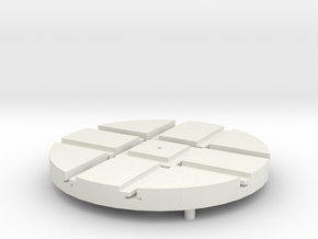 T-14-wagon-turntable-48d-100-1a in White Natural Versatile Plastic