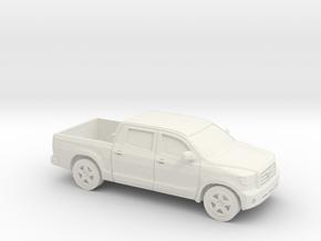 1/87 2007-11 Toyota Tundra Crew Cab in White Natural Versatile Plastic