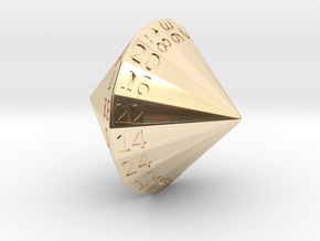 D36 in 14k Gold Plated Brass
