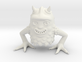 Forest monster in White Natural Versatile Plastic