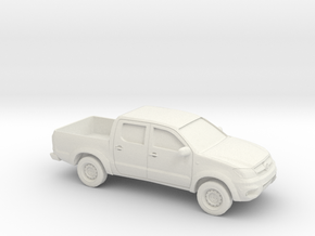 1/87 2005-14 Toyota Hilux in White Natural Versatile Plastic