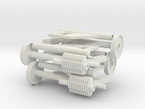 custom order 4x no muzzle in White Natural Versatile Plastic