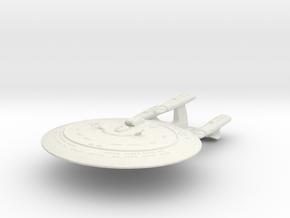 "Galaxy Dreadnought  Class  3.6"" in White Natural Versatile Plastic"