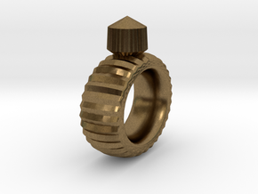 Craft Ring in Natural Bronze