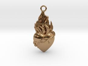 PITTI Medium Pendant in Polished Brass