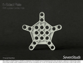 5 Sided Frame - Type A in Black Natural Versatile Plastic