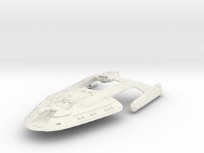 Nor Class Gun Destroyer in White Natural Versatile Plastic