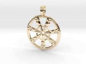 SUMERIAN FLUX in 14K Yellow Gold