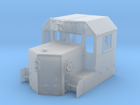 CN GP38-2 Spartan Cab, Rebuilt 1/87.1  in Smoothest Fine Detail Plastic