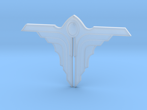Angel 01 - 60mm in Smooth Fine Detail Plastic