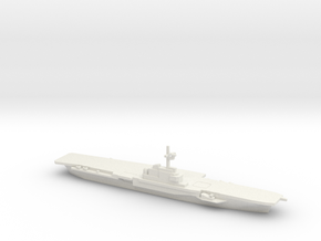 FS Clemenceau (R98) (1987), 1/3000 in White Natural Versatile Plastic