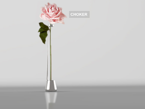 Choker Vase 2016 in Stainless Steel