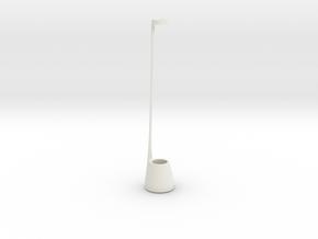 Choker Vase 2016 in White Strong & Flexible