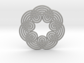 0535 Motion Of Points Around Circle (5cm) #012 in Aluminum