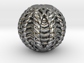 CARVER  Paper Weight in Polished Silver