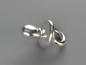 Passy in Fine Detail Polished Silver
