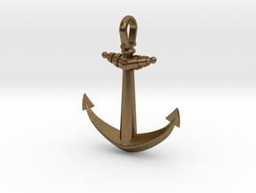Anchor V2 (Big) in Natural Bronze