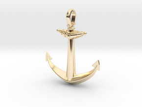 Anchor V2 (Big) in 14K Yellow Gold