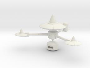 Starbase K-7 in White Strong & Flexible