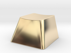 Customizable R1 MX Keycap THICK in 14K Yellow Gold