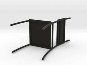 Chair in Black Natural Versatile Plastic