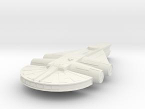 Medium Transport in White Natural Versatile Plastic