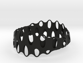 Bracelet 4 in Black Strong & Flexible