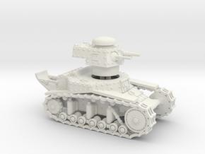 T18 (M6) - 15mm in White Natural Versatile Plastic