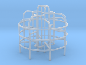 Playground Monkey Bars - N 160:1 Scale in Frosted Ultra Detail