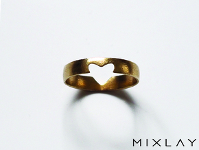 Secret Love 18 in Raw Brass