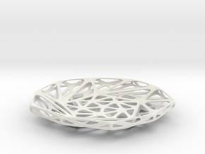 Berkeley Bowl  in White Natural Versatile Plastic