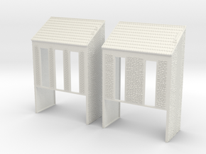 NVIM22 - City buildings in White Natural Versatile Plastic