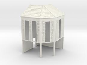 NVIM31 - City buildings in White Natural Versatile Plastic