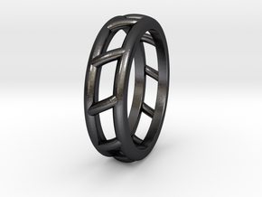 Rln0010 in Polished and Bronzed Black Steel