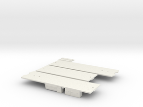 CTA 51-54 Series Underframe in White Natural Versatile Plastic