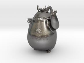 Totoro Pendant in Polished Nickel Steel